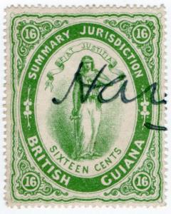 (I.B) British Guiana Revenue : Summary Jurisdiction 16c (1887)