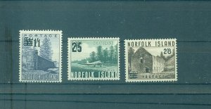 Norfolk Is. - Sc# 26-9. 1960 New Values. MNH $21.50.