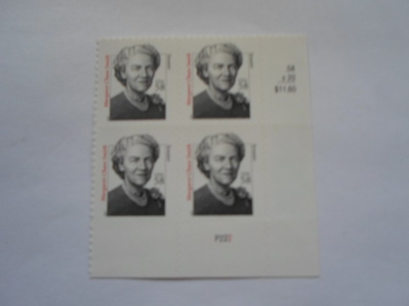 SC # 3427 PL. BLOCK 58 CENT MARGARET CHASE SMITH SELF- ADHESIVE MNH