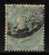 Great Britain 48 plate 4 used  2013 SCV $225.00  -- 10568..