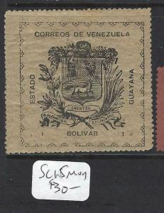 VENEZUELA GUYANA    (PP2203B)  SC 15   MOG