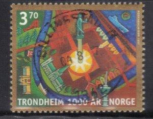 NORWAY SC# 1168 *USED* 3.70k  1997      SEE SCAN 3