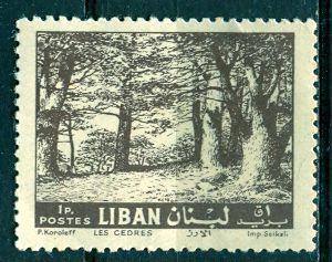 Lebanon; 1961: Sc. # 366: */MH Single Stamp