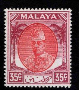 MALAYA Kelantan Scott 70 MH* Sultan Ibrahim stamp