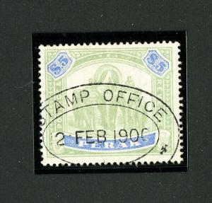 Perak Stamps # 60 Superb Used Gem Scott Value $625.00