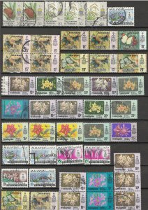 COLLECTION LOT OF #1810 MALAYSIA PULAU PENANG 46 STAMPS 1895+ CLEARANCE