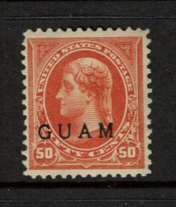 Guam SC# 11, Mint Lightly Hinged - S1109