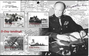 2004    GIBRALTAR  -  SG. MS 1092  -  ANNIVERSARY OF D-DAY   -  MNH