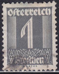 Austria 303 USED 1925 Numeral