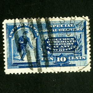 US Stamps # E2 Jumbo 1 in a million used gem