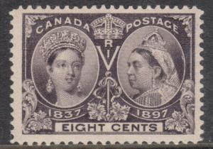 Canada #56 XF/NH Gem **With Certificate**