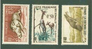FRENCH SOMALIA 271-73 MH CV$ 2.50 BIN$ 1.50
