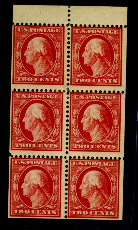 331a MINT Booklet Pane F-VF OG HR's Cat$135