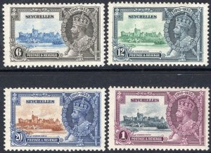 SEYCHELLES-1935 Silver Jubilee Set Sg 128-131 LIGHTLY MOUNTED MINT V50008