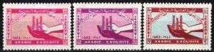Saudi Arabia #274-6 MNH CV $4.95 (P594)
