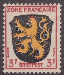 Germany 4N2 German Briefpost 3Pf 1945