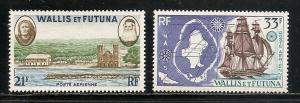 Wallis and Futuna Islands C13-4 1960 Views set MNH