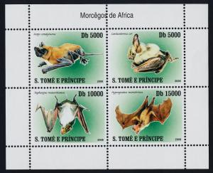 St Thomas & Principe 1773 MNH Bats