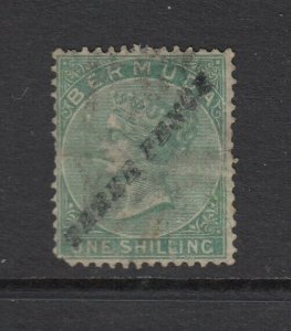 Bermuda, Sc 12 (SG 13), used (faults and rubbing)