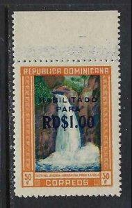 DOMINICAN REPUBLIC 540 MNH FALLS 199G-2