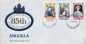 Anguilla, First Day Cover, Royalty