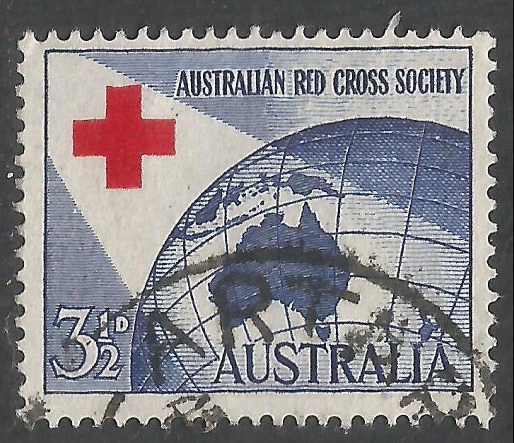 AUSTRALIA 271 VFU RED CROSS A1330-5