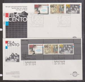 Netherlands - 1984 Centenary of Philately First Day Covers