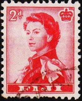 Fiji. 1954 2d S.G.312 Fine Used