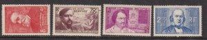 FRANCE^^^^^1939  Maury# 436-439 hinged set SEMIS POSTALS  $$$@ lar2023fr3