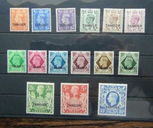 Tangier 1949 set to 10s Ultramarine MM SG261 - SG275