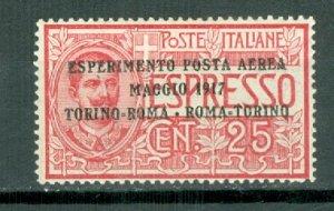 ITALY #C1...MINT...$22.50