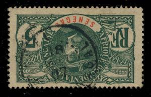 SÉNÉGAL - 1907 - CACHET À DATE DE BAKEL SUR 5c FAIDHERBE - RARE