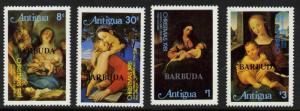 Barbuda 527-31 MNH Christmas, Art, Paintings