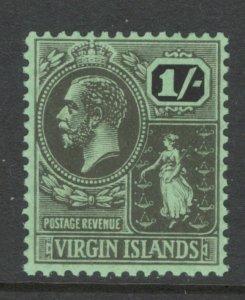 Virgin Islands 1922 King George V 1sh Scott # 50 MH