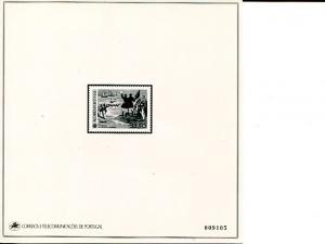 Portugal Azores Europa  1982 Proof in black   - Lakeshore Philatelics