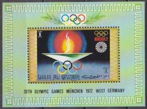 1971 Umm Al Qiwain 477/B33 1972 Olympic Games in Munchen 6,00 €