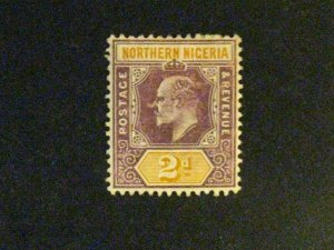 Northern Nigeria #21a mint hinged chalky paper a198.9561