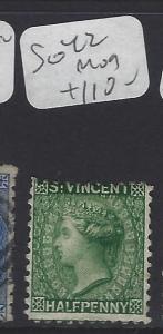 ST VINCENT (PP1807B)  QV  1/2D   SG 42   MOG