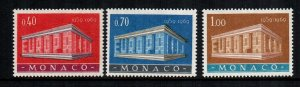 Monaco 722 - 724  MNH cat $ 11.00