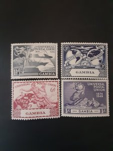 *Gambia #148-151*