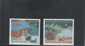 GREENLAND 275-276 MNH 2019 SCOTT CATALOGUE VALUE $5.25
