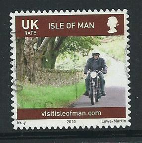 Isle of Man  VFU SG 1564  inscribed UK
