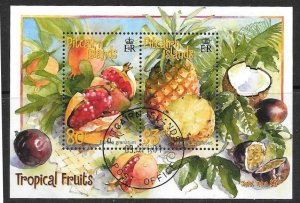 PITCAIRN ISLANDS SGMS595 2001 FRUITS FINE USED