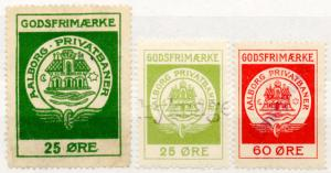 (I.B-CK) Denmark Railway : Aalborg Private Railway - Parcels Collection