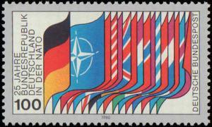 1980 Germany #1322, Complete Set, Never Hinged
