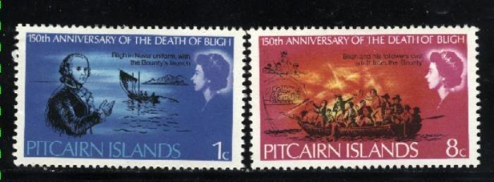 Pitcairn Islands #85,86   Mint VF 1967  PD
