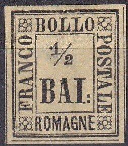 Italy Romagna #1   F-VF  Unused CV $42.50   (Z7967)