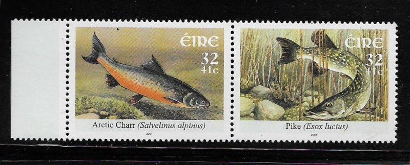 IRELAND, 1345-1346, MNH, PAIR, FISH