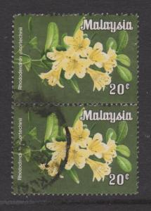 Malaysia Sc#196a Used Pair