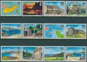 Alderney 1983 SGA1-A12 Island Scenes MNH